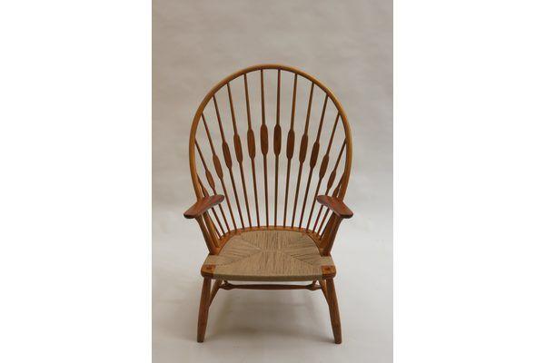Hans Wegner Peacock Chair By Johannes Hansen, 1960s | Vinterior   #midcentury #modern #20thcentury