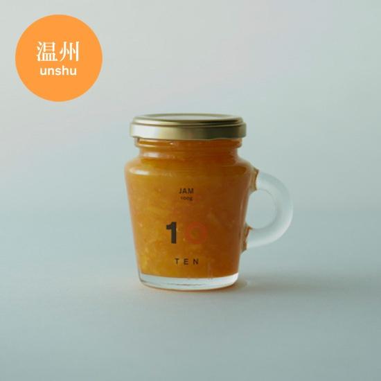 [伊予市 稲荷] 温州みかんジャム 100ml - 10 FACTORY ONLINE SHOP    Logo & Package design by artless Inc. + Produced by upsetters inc.