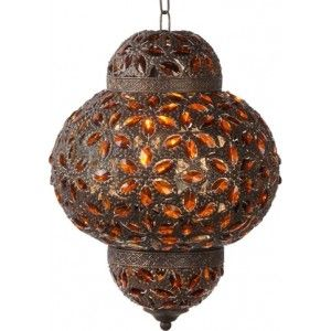 Ik vond dit op Beslist.nl: Lucide Djerba Lantaarn Hanglamp