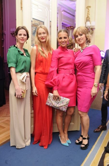 TOUS Rose party & Harper's Bazaar