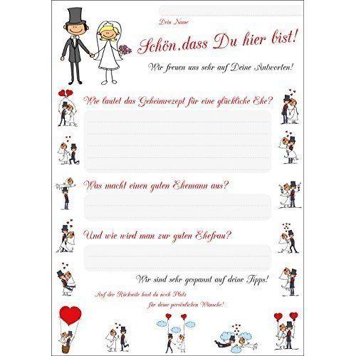 Hochzeitsspiele Foto-Spiel - Hochzeit Hochzeitsspiel Gäste Brautpaar Aufgaben Fotos (25 Stück)