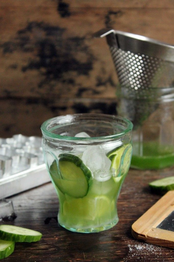 Cucumber Caipirinha Cocktail