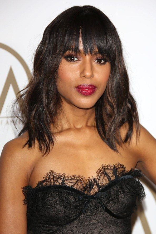 Want a fringe? Pick your style here, from blunt cuts to
