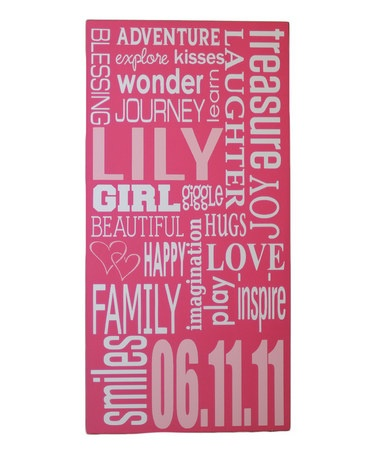 i like! uplifting, child centered art: Art Boards, Vinyls Crafts, Subway Art, Awesome Ideas, Baby, Wooden Signs, Personalized Wall Art, Girls Rooms, Kids Rooms