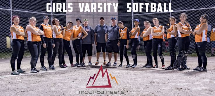 #MoMountaineers Women's Varsity Softball.