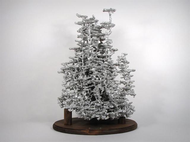 Pouring hot aluminum into an ant hill reveals its secret hidden beauty. #art