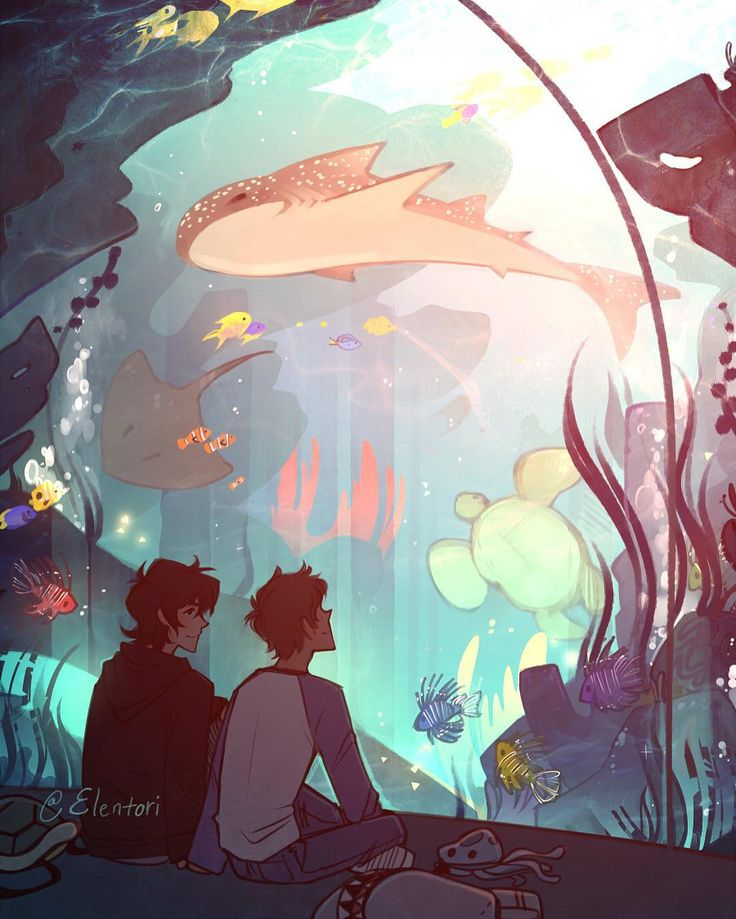 Klance << I love this because while Lance is having a wonderful time looking at the animals, Kieth is having a wonderful time just watching him.