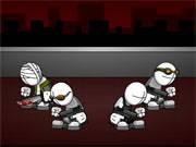 Joaca joculete din categoria jocuri cu drube http://www.smileydressup.com/cartoons/5586/chowder-mold-rush sau similare jocuri cu tuiti si silvestar