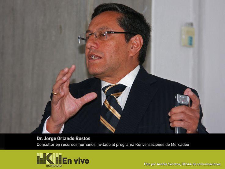 """Hoy jueves 3 a las 11:30 a.m. en el espacio radial """"Konversaciones de Mercadeo"""" coordinado por el Dr. Abel Uribe, el invitado es el Dr. Jorge Orlando Bernal, Ingeniero Industrial, Especializado en Gerencia de Producción y Operaciones. Abogado, Especialista en Derecho Laboral y MBA en Administración de Empresas. Se ha desempeñado como Gerente De Producción West Rubber de Colombia y como Gerente de Recursos Humanos En Bavaria. http://uklz.info/konradio-play"""