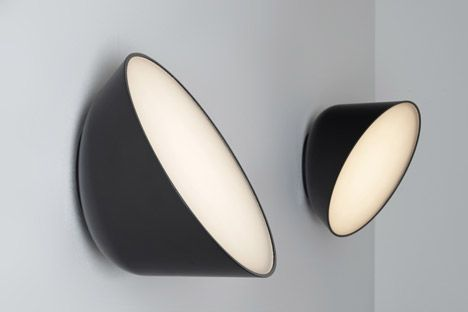 Appliques Rotating LED lamp by British designer Samuel Wilkinson.