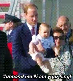 Long GIF the King: See the Funniest GIFs of Prince George's Visit to Australia and New Zealand : People.com Mobile