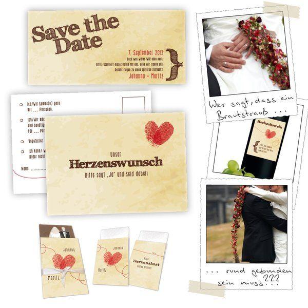 Herzenswunsch Hochzeitskarten mit Fingerabdrücke und Co  http://www.hochzeitseinladungen.de/hochzeit/kartengalerien/trendig-farbenfroh/action/show/card/DEB042A/