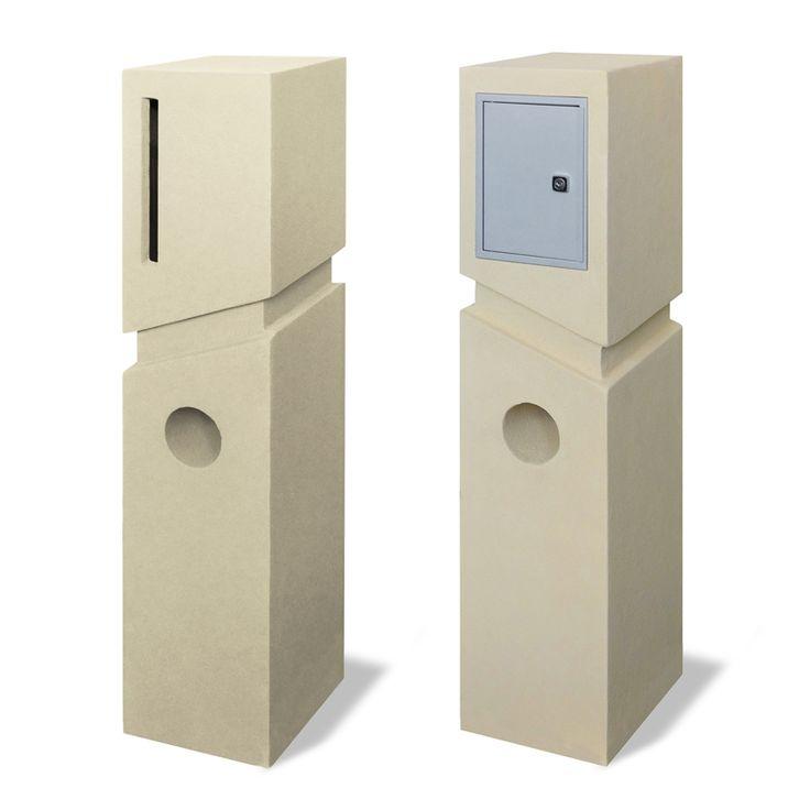 $160 Bunnings Milkcan Letterbox Co. Cream Spa Letterbox