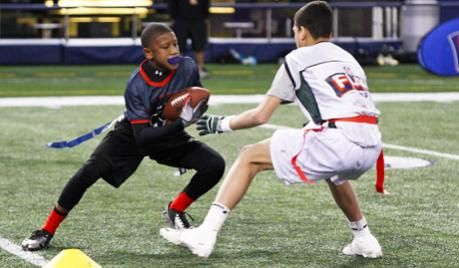 Drills to improve flag-pulling and footwork - Let's Talk Football | Youth Football | USA Football | Football's National Governing Body