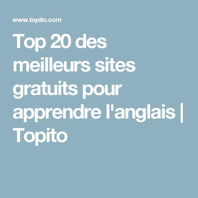 Top 20 des meilleurs sites gratuits pour apprendre l'anglais | Topito