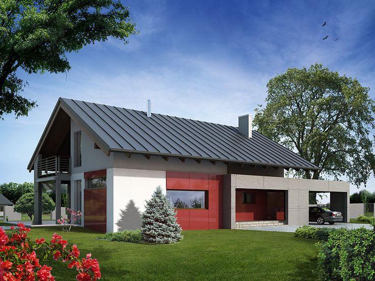 Projekt domu MT Onyks - DOM ST1-26 - gotowy projekt domu