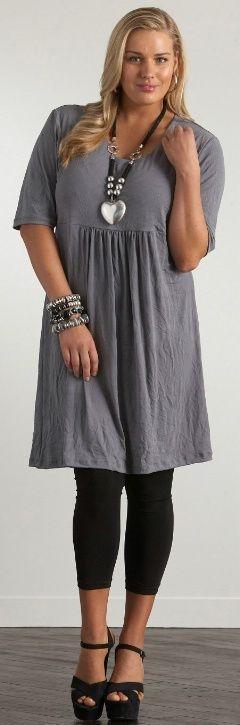 CRINKLE DRESS - Dresses - My Size, Plus Sized Women's Fashion & Clothing