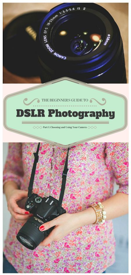The Beginner's Guide to DSLR Photography-Part I: Choosing and Using a Camera | How to Choose Your DSLR Camera and Shooting in Auto Mode | The Basics of a DSLR Camera