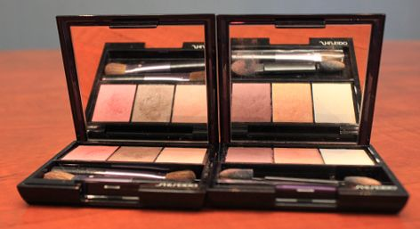 SHISEIDO LUMINIZING SATIN EYE COLOR TRIO RSP: R 465.00  Available at Edgars & Stuttafords