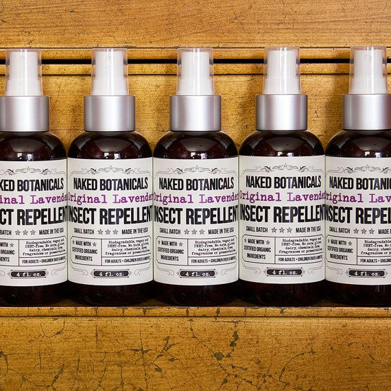 4 oz. Organic Lavender Insect Repellent (Bug Spray, Baby