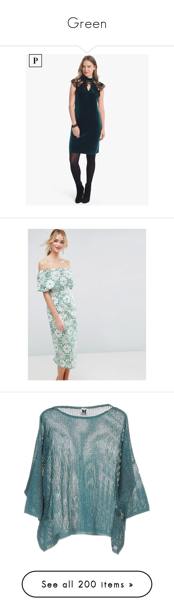 """""""Green"""" by miss-amazing-grace ❤ liked on Polyvore featuring dresses, petite, white lace cocktail dress, lace cocktail dress, lace formal dresses, white cocktail dress, white shift dresses, multi, bodycon party dresses and cocktail party dress"""