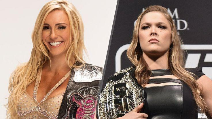 Ronda Rousey vs. Charlotte Flair at Wrestlemania 33? #RondaRousey, #Wrestlemania