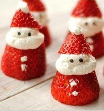 Çilekten Küçük Adamlar (Noel Baba) yapmayadersiniz? Farklı ve eğlenceli bir lezzet arıyorsanız bu atıştırmalıklar tam size göre. Yılbaşı akşamı misafirleriniz için olur ya da çocuklarınızın doğum günü için bile olur. Sadece Çilek, ...