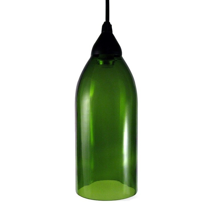 17 best images about upcycled wine bottle ideas on pinterest bottle wine bottle chandelier - Wine bottle pendant light ...