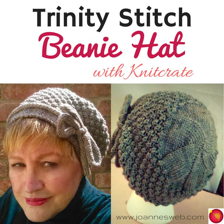 A stunning, feminine hat that is a cloche type beanie or slouchy beanie hat. This is has been a great collaboration with Knitcrate, the most amazing Yarn subscription service with delicious hand-crafted yarn. Check them out here: http://mbsy.co/lb3Pg  and get 20% off your first subscription with the code: Joanne20