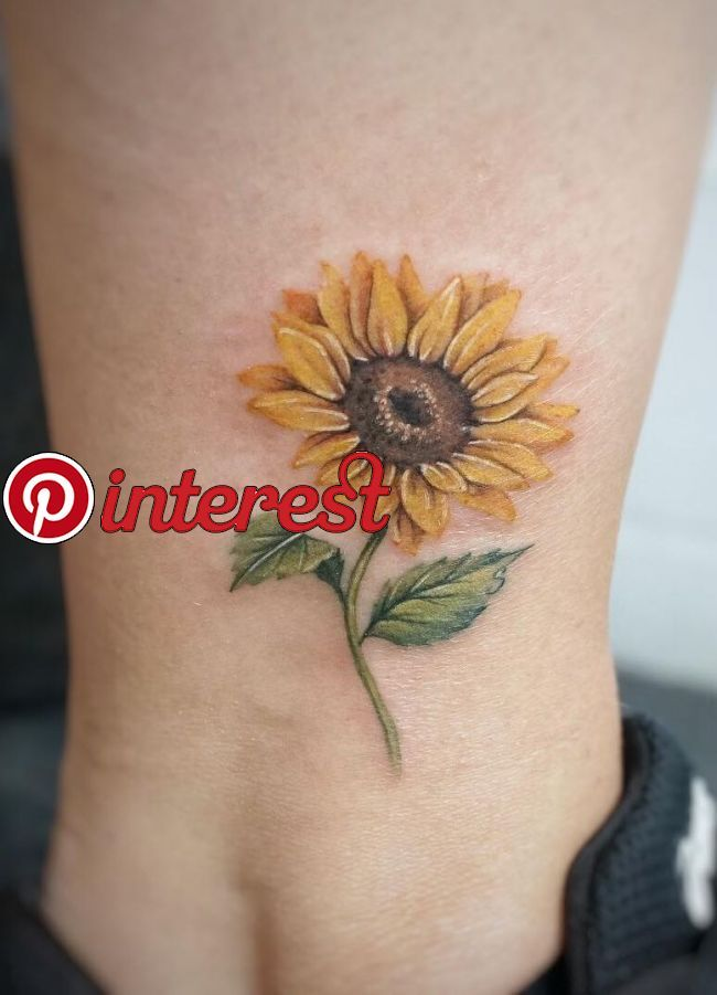 886f142adda4a Celebrate the Beauty of Nature with these Inspirational Sunflower Tattoos  With their distinctive and brilliant appearance and with their rich  symbolism, ...