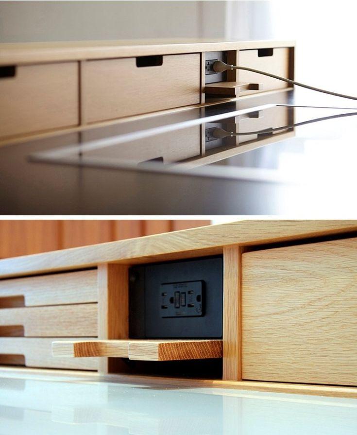 Cache prise électrique pour créer une belle unité déco dans la cuisine moderne en 2020 | Cache ...