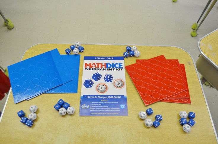 ThinkFun MathDice Tournament Kit, review by Surviving a Teacher's Salary!