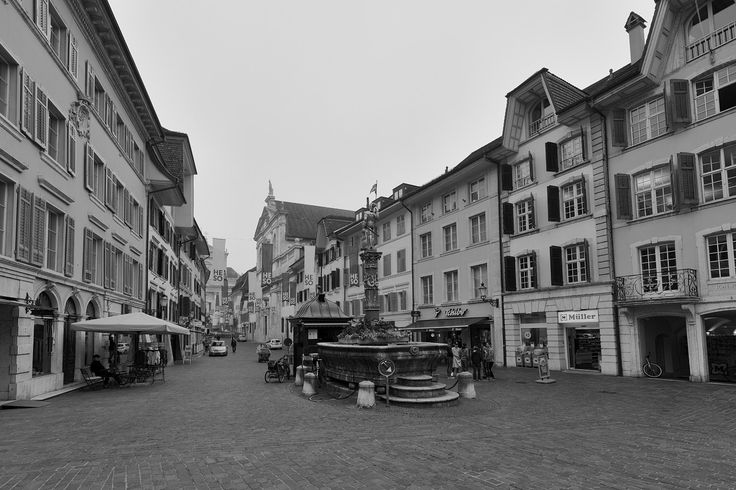 Old Town Solothurn - Old town of Solothurn, Canton of Solothurn, Switzerland