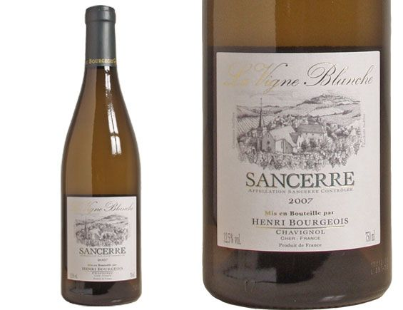 Sancerre - Christian's choice of wine in Fifty Shades of Grey pages 215 and 283