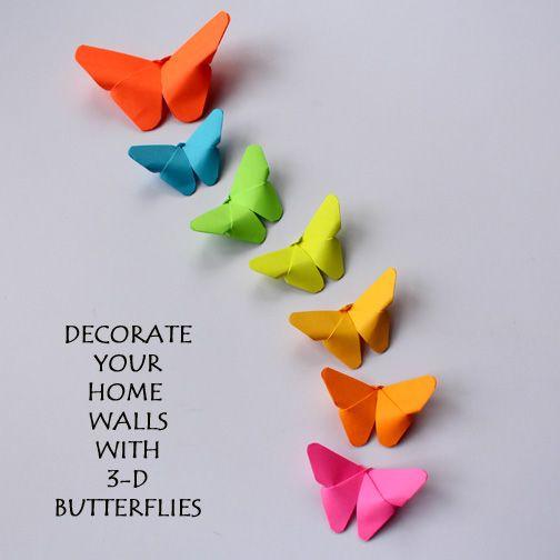 3 D Schmetterling aus Papier