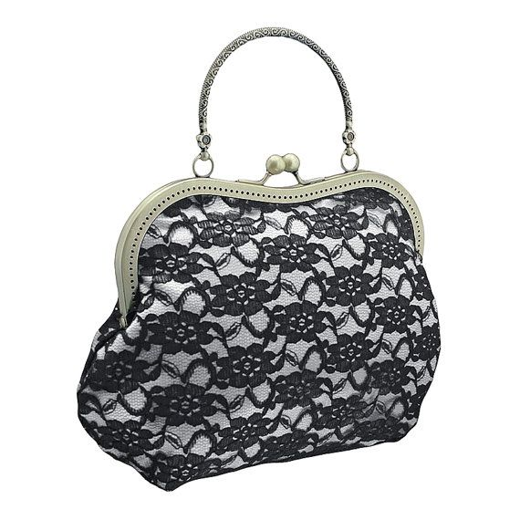 handbag in glamour formal or vintage style by FashionForWomen. https://www.etsy.com/listing/209607722/handbag-in-glamour-formal-or-vintage?ref=shop_home_active_1