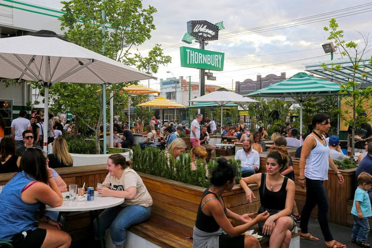 Food truck park: Welcome to Thornbury.