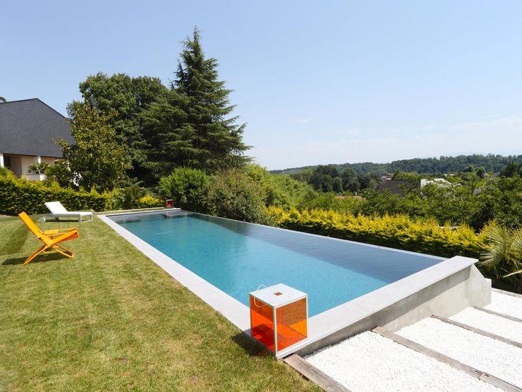 49 best piscines design images on pinterest architects. Black Bedroom Furniture Sets. Home Design Ideas