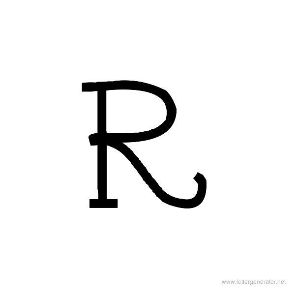 Letter r tattoos gallery