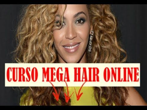Curso Mega Hair Online Ensina Passo A Passo Todos Os Diferentes