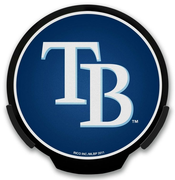 Tampa Bay Rays Light Up POWERDECAL