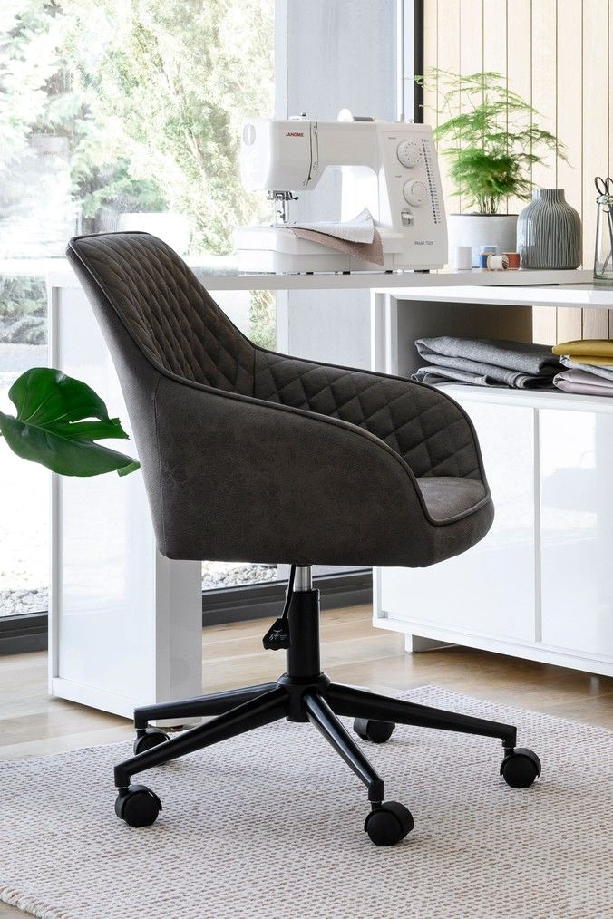 Buy Hamilton Arm Office Chair From The Next Uk Online Shop In 2020 Office Chair Black Office Chair Leather Office Chair