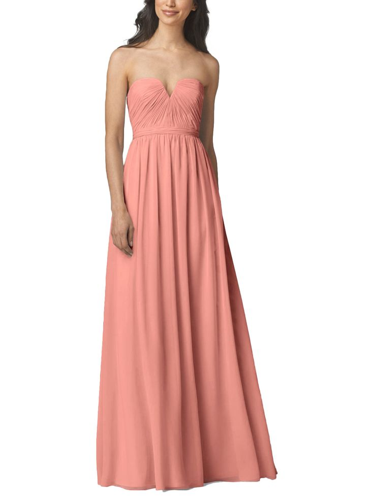 33 best Pale Peach Bridesmaid Dresses images on Pinterest ...