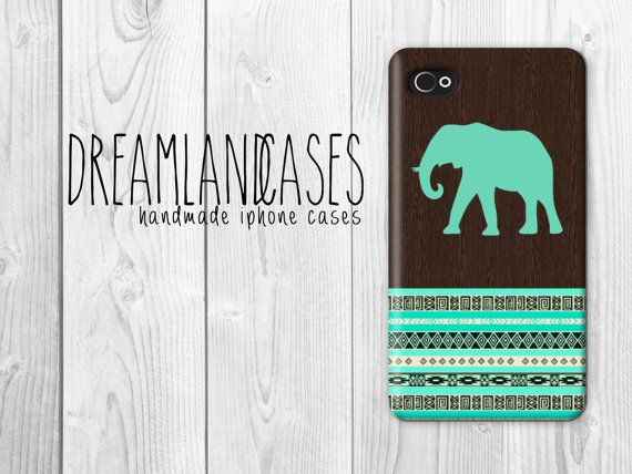 elephant iphone case, wood iphone case, iphone 4, iphone 4s, iphone 5, iphone 5s, iphone 4 case, iphone 4s case, iphone 5 case, iphone 5s case, case, phone case, iphone case, #elephant, #iphone, #aztec, #tribal, aztec print, tribal print, triangles, triangle  by DreamlandCases, $13.00