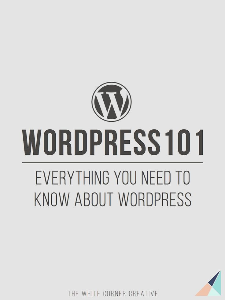 Wordpress 101 Series - WordPress for Beginners | Wordpress Tutorials | Wordpress Help | Wordpress for Dummies