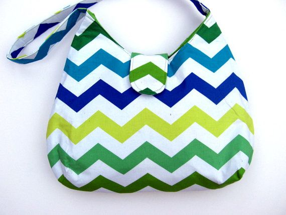 CHEVRON BAG CHEVRON Purse Shoulder Bags Zig by CarolinaFashionBags