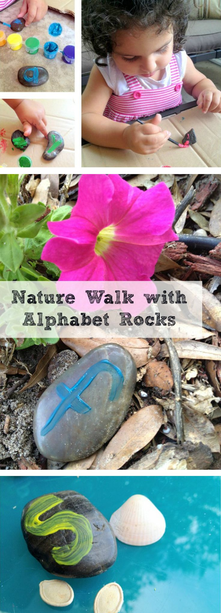 Nature Rocks! - Children's Educational Activity: Summer brings opportunities to create teachable moments even with our youngest learners.  A simple nature walk can build a variety of skills and knowledge in both science and language.