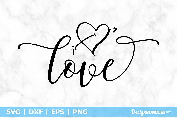SVG Layered Love Svg File SVG PNG EPS DXF