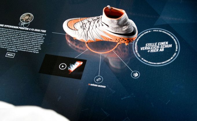 Nike : table magique