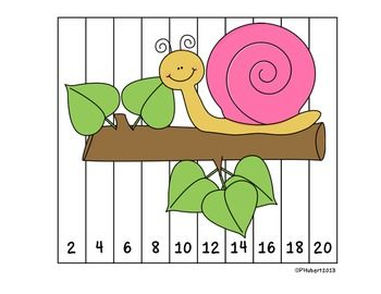 These number puzzles are great for students to practice ordering numbers and can be used at your centers or as an activity to enhance your small learning group. I like to have these sitting at my small math group table and students get started on these as everyone arrives. They are self corrective so they can be used individually or in the small group.
